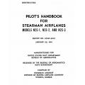 Stearman N2S-1-2-3 Pilot's Handbook $2.95