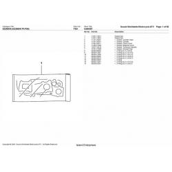 Suzuki GZ250K5 (GZ250K5 P3 P28) Worldwide Motorcycle ATV Parts Manual