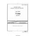 Beechcraft T-34A Mentor USAF Series T.O.1T-34A-21 Master Guide Aircraft Inventory Record $4.95