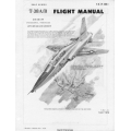 Northrop T-38A Talon-B USAF Series Aircraft T.O. 1T-38A-1 Flight Manual/POH1978 $9.95