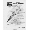 Northrop T-38A TalonUSAF Series (NASA) Aircraft T.O. 1T-38A-1-1 Supplement Flight Manual/POH 1967 - 1970 $4.95