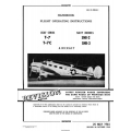 Beechcraft T-7, T-7C, SNB-2 & SNB-3 Aircraft Handbook Flight Operating Instructions 1944 - 1948 $4.95
