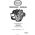 Triumph Three Cylinder Model T150 FROM ENGINE NO.T150T101 Workshop Manual