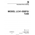 Cessna Model LC41-550FG/T240 Illustrated Parts Catalog T240PC04 $29.95