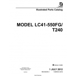 Cessna Model LC41-550FG/T240 Illustrated Parts Catalog T240PC04
