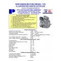Wisconsin Motors Model TJD Illustrated Parts Catalog
