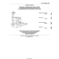 TM 10-3930-648-14&P YALE Model MP040C2M2742EE Truck, Pallet-Type, 12-Volt Electric-Driven, Solid Rubber Tires, 4,000-LB Capacity Technical Manual Operator's, Organizational,Direct Support, and General Support Maintenance Manual