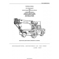 TM 10-3950-672-24-1  Warehouse Crane 10,000 LB. Capacity, M469 Wheeled, Diesel Powered Technical Manual Unit, Direct Support and General Support Maintenance Manual