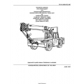 TM 10-3950-672-24P  Warehouse Crane 10,000 LB. Capacity, M469 Wheeled, Diesel Powered Technical Manual Unit, Direct Support and General Support Maintenance Repair Parts and Special Tools List