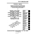 TM 10-3990-204-12&P Spreader, Lifting Frames  Spacer/Stabilizer Bar Technical Manual Operator's and Organizational Maintenance Manual  including Repair Parts and Special Tools Lists