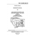 TM 10-5430-244-10 Load Handling System (LHS) Compatible Water Tank Rack Technical Manual  Operator's Manual