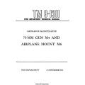 TM 9-1311 75-mm Gun M4 and Airplane Mount M6 Technical Manual