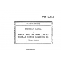 TM 9-705 Scout Cars, M3, M3A1, and 4.2 Mortar Motor carriage, M2