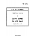 TM 9-721 Heavy Tanks M6 and M6A1 Technical Manual