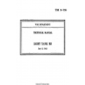 TM 9-726 Light Tank M3 Technical Manual $2.95