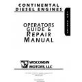 Wisconsin Continental TMD Series Diesel Engine Opertaors Guide & Repair Mnaual $9.95