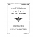 Continental Handbook of Service Instructions R-670 -3, -4, -5 TO 02-40AA-2 $13.95
