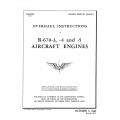 Continental R-670-3, 4 & 5 Aircraft Engines TO 02-40AA-3 Overhaul Instructions $13.95