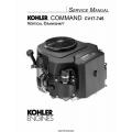Kohler Command CV17-745 Vertical Crankshaft Service Manual 1991 - 2005 $9.95