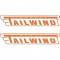 Tailwind Aircraft Decal,Sticker 2''high x 15''wide!