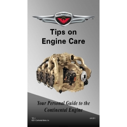 Continental Tips on Engine Care Your Personal Guide to the Continental Engine Tec-1 $19.95