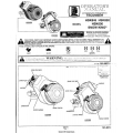 Tecumseh HSK845, HSK850, HSK600 Snow King Operator's Manual and Maintenance Instructions $4.95