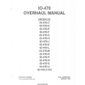 Continental Motors IO-470 Overhaul Manual X30588A 1992 $24.95