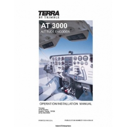 Terra AT 3000 Altitude Encoder Operation/ Installation Manual 1996 $9.95