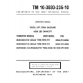 Towmotor 462SG4024-100, 502PG4024-144 MHE 191-190 TM 10-3930-235-10 Operator's Manual 1964 $9.95