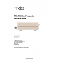 Trig Avionics TT21 and TT22 Mode S Transponder Installation Manual $9.95