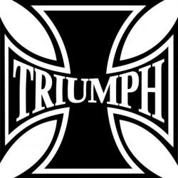 Triumph Tank, Helmet Stickers/Decals!