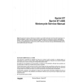 Triumph Sprint ST 1050 Motorcycle Service Manual 2005 - 2010 $9.95