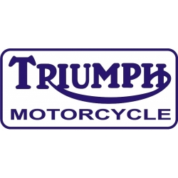 Triumph Motorcycle! Sticker/Decals!