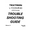 Lycoming Trouble Shooting Guide 1987 $5.95