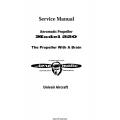 Univair Aeromatic Propeller 220 Service Manual $4.95