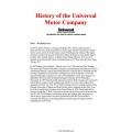 Universal Diesel Marine Engines Motor History $2.95