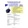 Wisconsin Motors Model V465D Illustrated Parts Catalog