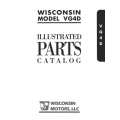 Wisconsin  Model VG4D Illustrated Parts Catalog $9.95