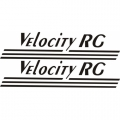 Velocity RG Aircraft Decal/Sticker 5''high x 22 1/2''wide!