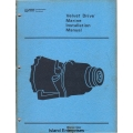 Borg Warner Velvet Drive 71C & 72C Marine Installation Service Manual $4.95