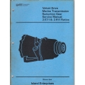 Borg Warner Velvet Drive 2.57:1 & 2.91:1 Ratios Marine Transmission Reduction Gear Service Manual