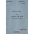 Vultee Aircraft Vengeance IV Target Tower Pilot's Notes 1945