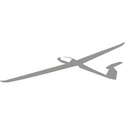 Ventus Sailplane Decal/Sticker