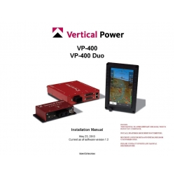 Vertical Power-400 Duo Installation  Manual  $13.95