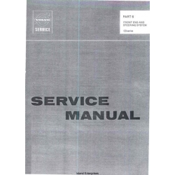 Volvo C3-Series Front End and Steering System Service Manual $5.95