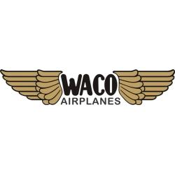 Waco Airplanes Aircraft Logo,Decals!