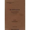 Dornier Werkschrift 2217 E-2, E-4 Teil 8D/ Do 217 E-2, E4 Flugzeug-Handbuch 1942