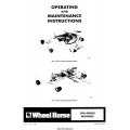 Wheel Horse 200-Series Mowers Operating and Maintenance Instructions