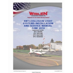 Anti-Collision Light System Installation and Service Manual $4.95