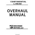 Wisconsin Continental L-Head Four & Six Cylinder N56, Y69, F163, F186, M363, B427 Overhaul Manual 2006 $13.95